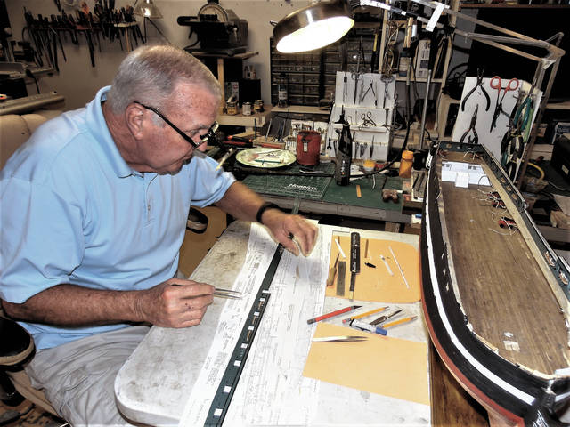 Local man puts time, attention, heart into crafting wooden