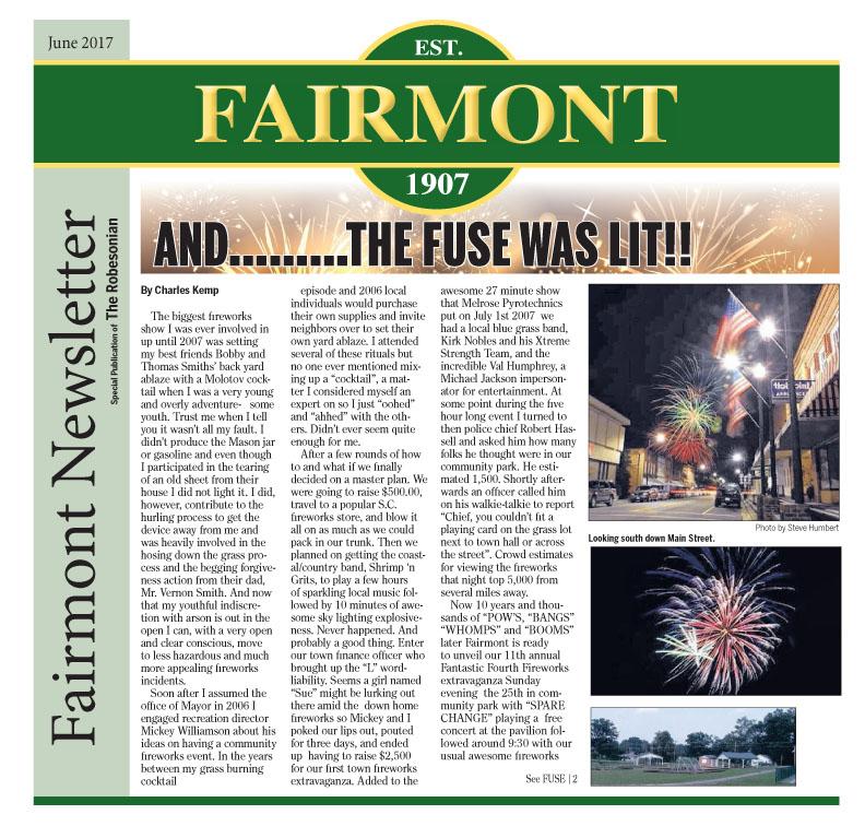 Fairmont Newsletter June 2017
