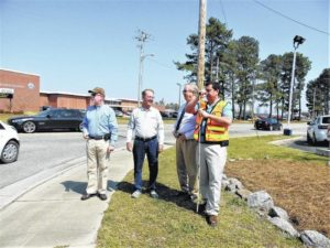 Crosswalk planned for Lumberton High delayed