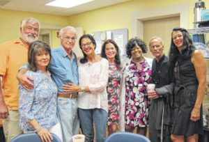 Luncheon honors Gibson family
