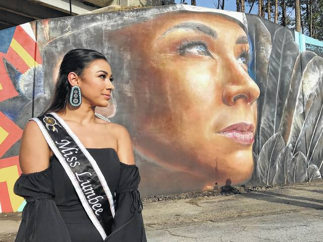 Murals in Greensboro feature images of Lumbee Tribe members | Robesonian
