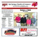 Red Springs December Chamber Newsletter
