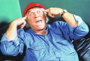 Comic James Gregory performs Friday at Civic Center