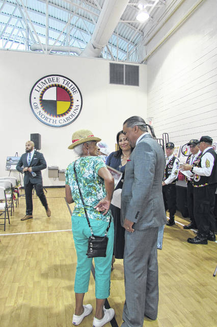 Godwin speaks of need for tribal leadership | Robesonian