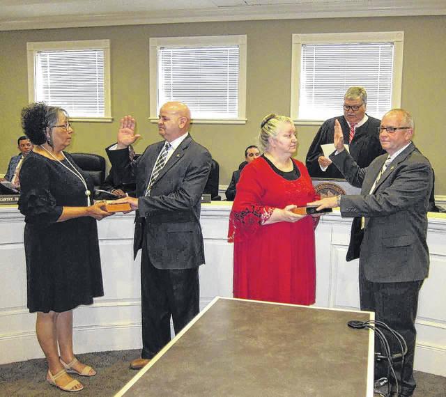 It's official: Chavis, Carroll take oath | Robesonian